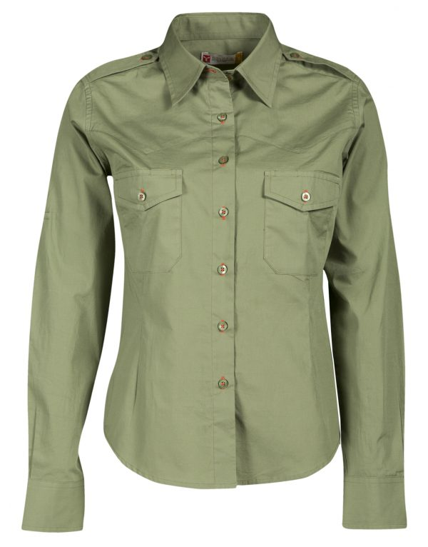 TROPHY LADY MILITARY GREEN
